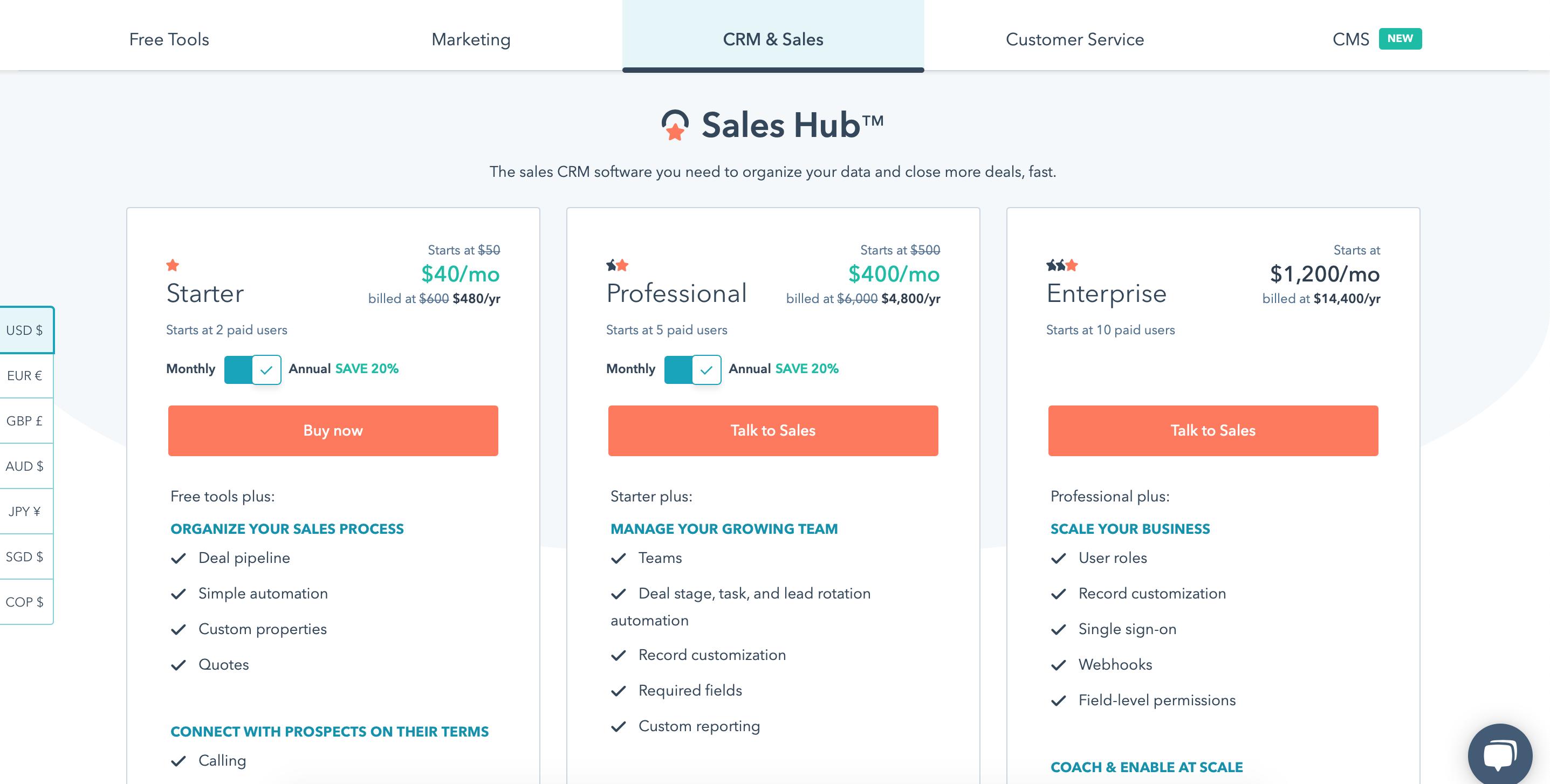 HubSot_Sales_Hub_Pricing