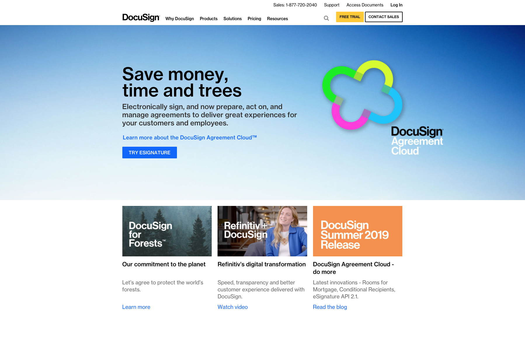 DocuSign website