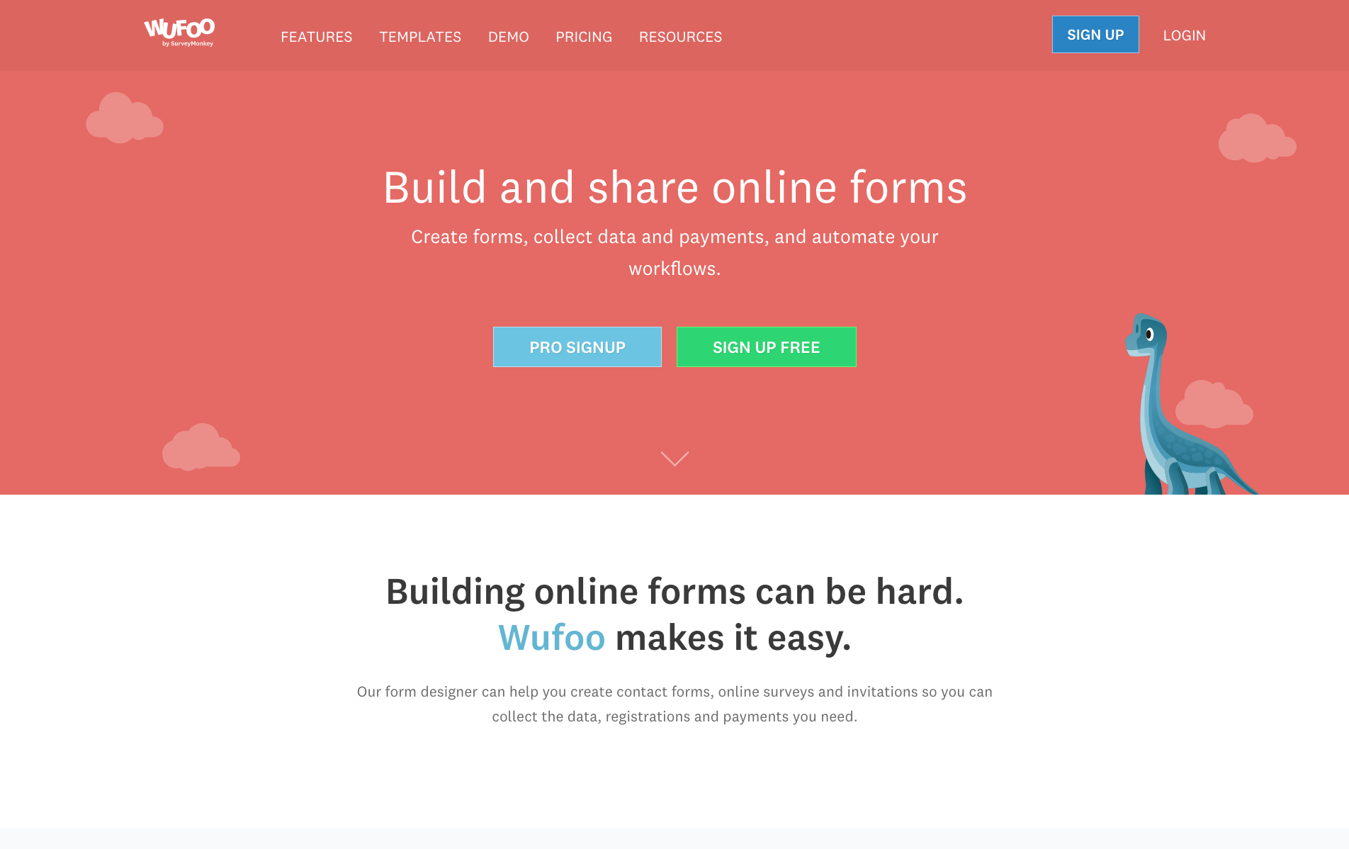 Wufoo website