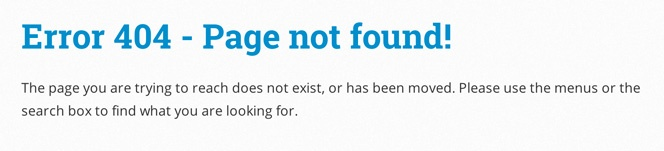 Boring Old 404 Page