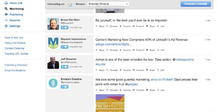 Social Monitoring Dashboard - HubSpot