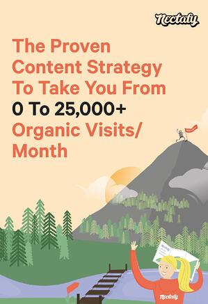 Download Now: The Content Strategy Guide To Take You From 0 to 25k Visits Per Month