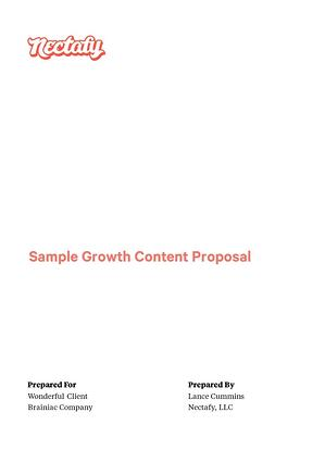 Download: Sample Growth Content Example