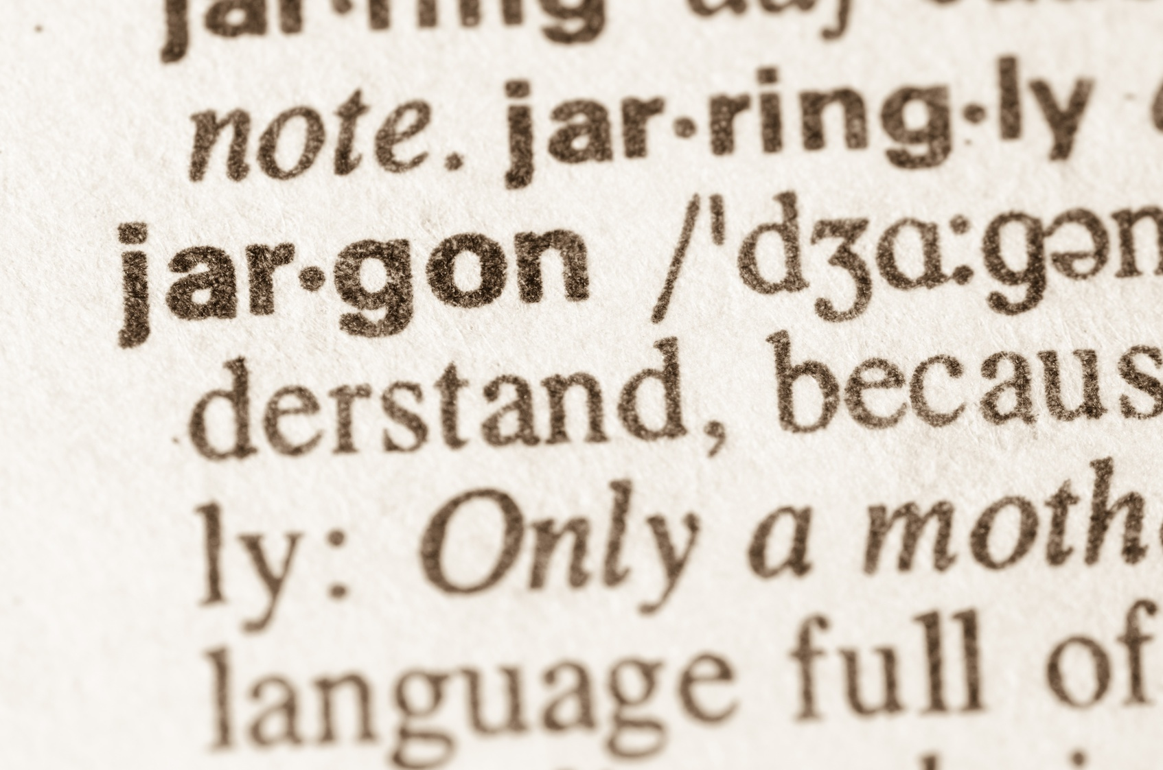 A Compilation Of Overused Jargon In Copy Writing