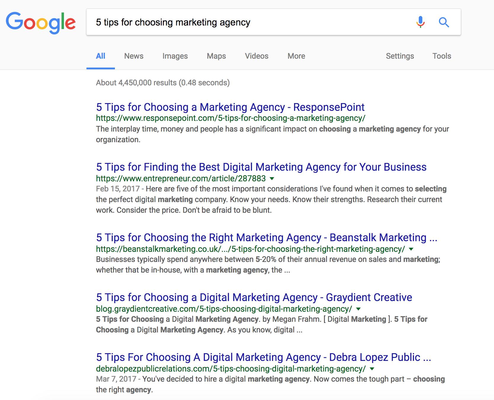 Boring Inbound Marketing