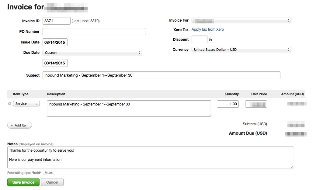 inbound-marketing tools-harvest-invoice