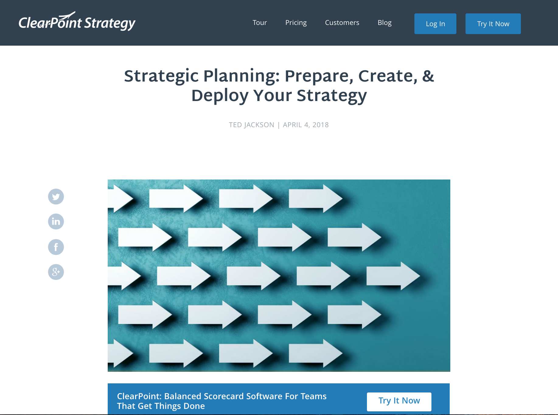 Strategic Planning: Prepare, Create, & Deploy Your Strategy